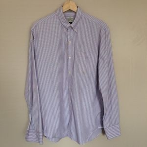 J. Crew Men's Long Sleeve Button Front 2 Ply Shirt